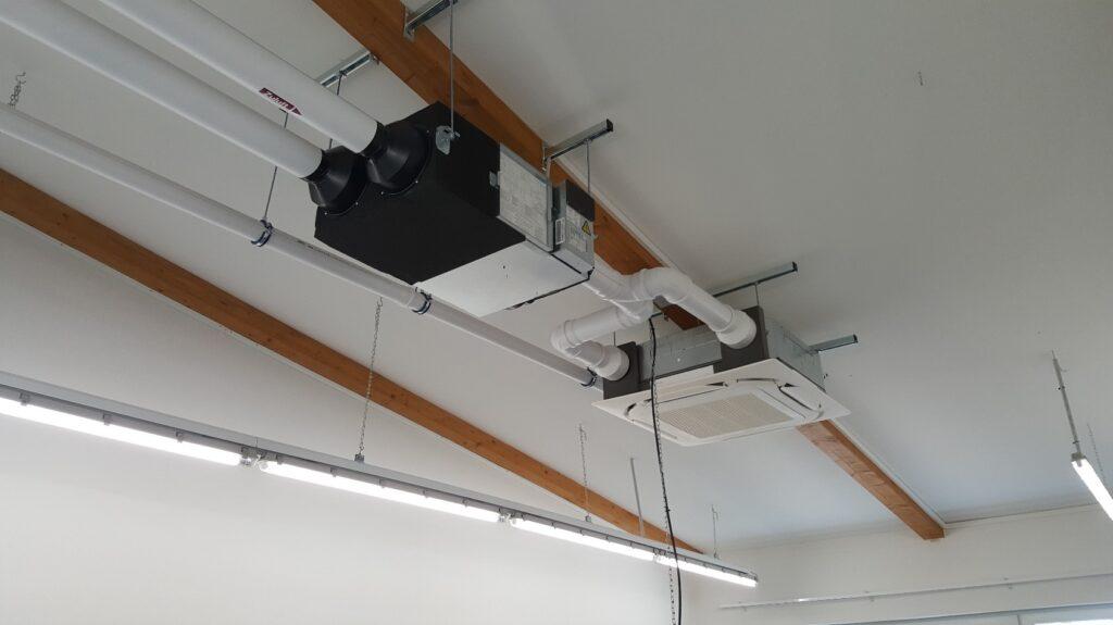 Klimatisierung für einen Messraum mit Daikin Technik