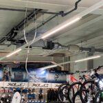 Klimatisierung eines Fahrradladens